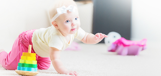 让宝宝自由探索